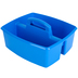 Storex, Large Caddy, Blue, 2 Compartments, Plastic, 13 x 11 x 6.38 Inches, 1 Piece