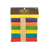 Woodpile Fun, Colored Craft Sticks, 4 1/2 inches, Set of 150