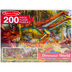 Melissa & Doug, Dinosaurs Floor Puzzle, 200 Pieces, 50 x 18 inches, Ages 8 and Older