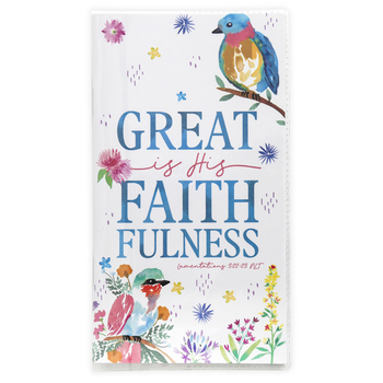 Renewing Faith, Lamentations 3:22-23 Great Is His Faithfulness 28-Month Pocket Planner, 3 1/2 x 6 1/2 inches
