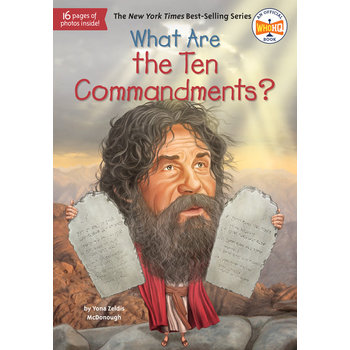 What Are the Ten Commandments, What Was Series, by Yona Zeldis McDonough, Paperback