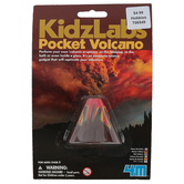 4M KidzLabs, Pocket Volcano, 1 Piece, Ages 6 and up