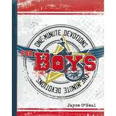 One Minute Devotions for Boys, by Jayce O'Neal, Hardcover