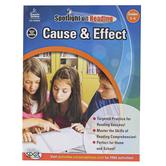 Carson-Dellosa, Cause and Effect Resource Book, Spotlight on Reading, Paperback, Grades 5-6