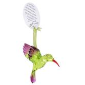 Enesco, Happy Heart Hummingbird Ornament, 4 1/4 inches