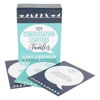 Christian Art Gifts, 101 Conversation Starters for Families, by Gary Chapman & Ramon Presson