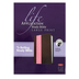 NKJV Life Application Study Bible, Large Print, Duo-Tone, Dark Brown and Pink, Thumb Indexed