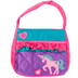 Stephen Joseph, Unicorn Quilted Purse, Cotton, Purple and Pink, 7 x 8 inches