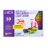 E-Blox, Circuit Blox, Build Your Own Fan Launch Challenge, 59 Projects, Ages 5 & Older