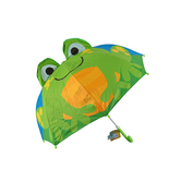 Stephen Joseph, Frog Pop-Up Umbrella, Ages 3 and Older, 22 x 27 inches opened