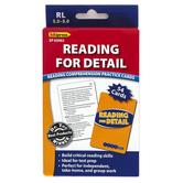 Edupress, Reading For Detail Reading Comprehension Practice Cards-Blue Level, 54 Cards, Reading Level 3.5-5.0