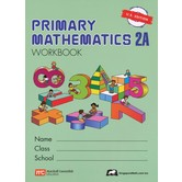 Singapore Math, Primary Math Workbook 2A, U.S. Edition, Paperback, 174 Pages, Grades 2-3