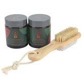 Wanderflower, 3 Piece Foot Therapy Set, 9 x 6 3/4 x 3 1/2 inches