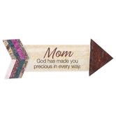 Imagine Design, Mom God Has Made You Precious In Every Way Arrow Magnet, 2 x 5 1/4 inches