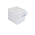 Sterilite, Mini 3-Drawer Storage Unit, Clear with White Trim, 8.50L x 7.25W x 7H Inches, 4 Pieces