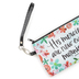 Brownlow Gifts, Lamentations 3:23 Amazing Grace Zippered Bag, Canvas, 8 1/2 x 5 inches
