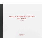 Broadman Church Supplies, Church Membership Record Book , 12 3/4 x 10 1/4 inches