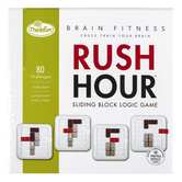 ThinkFun, Rush Hour Brain Fitness, Single Player, Ages 8 and Older
