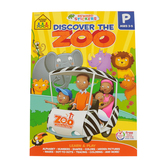 School Zone, Discover the Zoo Preschool Adventure Tablet, Paperback, 240 Pages, Ages 3-5