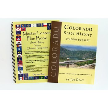 A Helping Hand, Colorado State History Student and Teacher Books, Paperback and Spiral, Grades 3-12