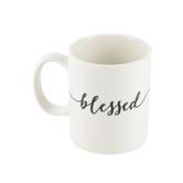 P. Graham Dunn, Blessed Coffee Mug, Porcelain, White, 15 Ounces