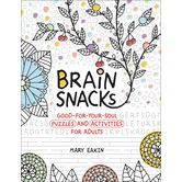 Brain Snacks: Good-for-Your-Soul Puzzles and Activities for Adults, by Mary Eakin