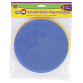 Teacher Created Resources, Spot On Carpet Markers Colorful Circles, Assorted Colors, 6 Pieces, 7 Inches