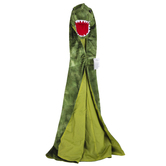The Puppet Company, Dinosaur Costume Animal Cape, Green, 23 x 15 1/4 inches