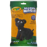 Crayola, Model Magic Modeling Compound, Black, 4 ounces