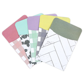 Farmhouse Lane Collection, Book Pockets, Farmhouse Style, 3.5 x 5.25 Inches, 5 Designs, Pack of 36