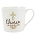 Faithworks, Isaiah 43:1, Chosen Coffee Mug, Bone China, White, 12 ounces