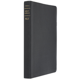 NLT Filament Thinline Large Print Reference Bible, Genuine Leather, Black