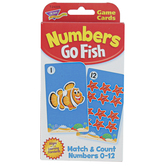 TREND enterprises Inc., Numbers Go Fish Challenge Cards, Ages 3 Years and Older, 56 Cards