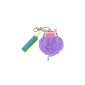 Stephen Joseph, Unicorn Pom Pom Critter Keychain, Ages 3 to 7 Years Old