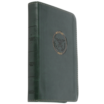 CSB Military Bible for Soldiers, Imitation Leather, Green
