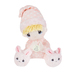 Aurora, Precious Moments, Prayer Girl Plush Toy, Polyester, Pink, 7 x 5 1/2 x 8 inches