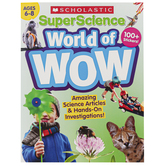 Scholastic, SuperScience World of Wow Workbook, 112 Pages, Grades 1-3