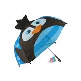 Stephen Joseph, Penguin Pop-Up Umbrella, Ages 3 and Older, 22 x 27 inches opened