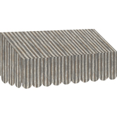 Teacher Created Resources, Home Sweet Classroom Awning, Corrugated Metal, 24 x 12 1/2 x 8 Inches, 1 Piece