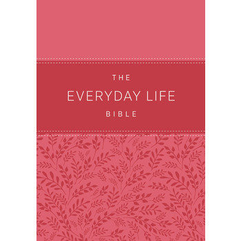 AMP Everyday Life Bible, Imitation Leather, Fuchsia