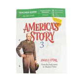 Master Books, America's Story Volume 3 Teacher Guide, by Angela O'Dell, Paperback, Grades 3-6