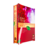 NLT One Year Chronological Bible, Paperback