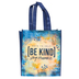 Be Kind and Stay Humble Tote Bag, Blue, 10 x 4 x 12 Inches