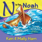 N is for Noah, by Ken Ham, Mally Ham, and Jeff Albrecht, Spiral Bound