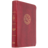 CSB Firefighter's Bible, Imitation Leather, Red
