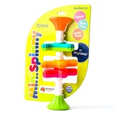 Fat Brain Toys, MiniSpinny, Ages 10 Months and Older, 8 1/4 x 3 1/4 inches