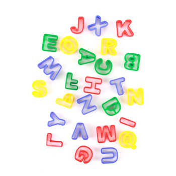 Chenille Kraft, Alphabet Capital Letters Dough Cutters, 26 Pieces