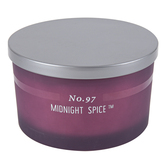 No. 97 Midnight Spice Jar Candle, Purple, 15 ounces, 5 1/4 x 3 1/8 inches
