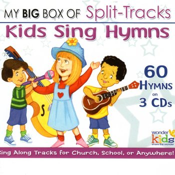 Wonder Kids Soundtracks, Big Box of Split-Track Kids Hymns: 3 CD set, by Wonder Kids Choir