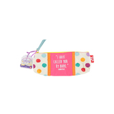 Wee Believers, Isaiah 43:1 Called by Name Small-Sized Accessory Bag, Cotton and Polyester, 9 x 2 x 3 inches